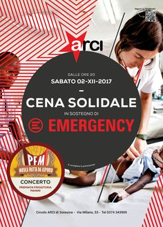 EMERGENCY Poster for ARCI Cecilia Cerri on Behance