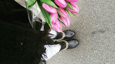#flowers #fashion #mode Doc Martens Oxfords, Dr. Martens, Combat Boots, Oxford Shoes, Flowers, Fashion, Oxford Shoe, Moda, La Mode