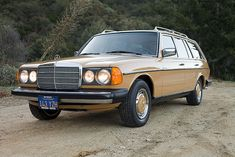 1979 Mercedes-Benz 300TD Diesel Station Wagon