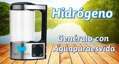 Agua Hidrogenada. Fuente de salud.