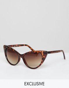 7265839445 Gafas de sol de ojos de gato de carey exclusivas en ASOS de Reclaimed  Vintage Inspired