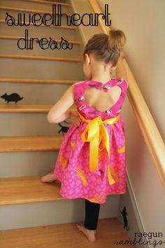 Sewing: Sweetheart Dress