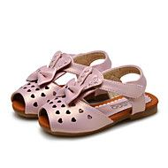 Baby+Shoes+Wedding+/+Outdoor+/+Dress+/+Casual+Leatherette+Sandals+Pink+/+Silver+/+Gold+–+USD+$+52.00