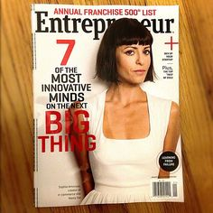 Sophia Amoruso takes the cover of January's Entrepreneur Mag!