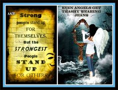 Strong people