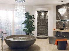 A very elegant looking bathroom.