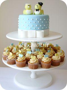 Torre de cupcake