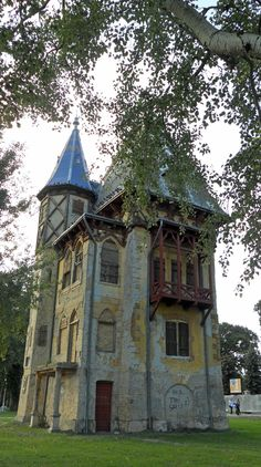one of my personal favorites - a tiny little lakeside castle in Serbia