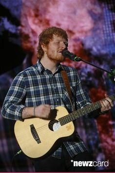 Ed Sheeran performed at Rock in Rio USA at the MGM Resorts Festival Grounds on Friday, May 15, 2015, in Las Vegas.