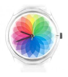 Montre 08:21AM rainbow 35€