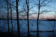 "Elk Island, Alberta, Canada.  ""Spring""  (Photo by Anita, April 2011)"