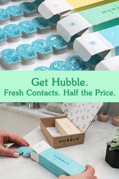 Tired of overpaying for contact lenses? Get your free first box of Hubble lenses now!
