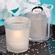 Bling Collection White Candle Holders-If you're looking to add some event-day bling, these white candle holders are just the thing Are you a bling fan? Do you love a lot of sparkle in your day? Well, let Fashioncraft introduce you to this candle stun Candle Wedding Favors, Candle Holders Wedding, Candle Favors, Wedding Party Favors, Wedding Ideas, Wedding Stuff, Wedding Themes, Wedding Reception, Wedding Inspiration
