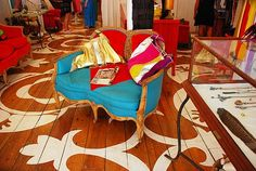 images of painted hardwood floors | ... floor is left natural it could really cleverly disguise a wood floor