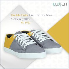 Best in quality and comfort these uber shoes would amplify your dapper look! Buy them today and keep it cool.  #MenShoes #MenApparels #GreyShoes #DapperStyle #MensFashion