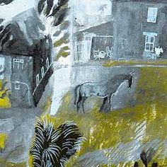 Farmyard, Co. Cork (detail), mixed media on paper by Charles Shearer via Galanthus gallery Poetry Competitions, Royal College Of Art, Light Crafts, Sketch Inspiration, Farm Yard, Painting & Drawing, Printmaking, Colleges, Illustration Art