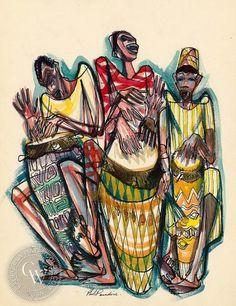 Phil Paradise - Haiti, Rhythm, 1954