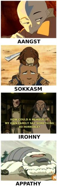Avatar the Last Airbender, all the feels... Literally