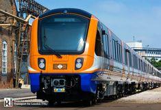 Rail Transport, London Transport, London Travel, Public Transport, London Underground Tube, Uk Rail, London Overground, British Rail, Electric Train