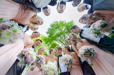 Fun bridal party photo! By Anna Page Photo.