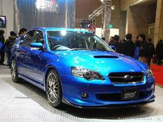 2005 Subaru Legacy GT. I'd love to paint my car this color!
