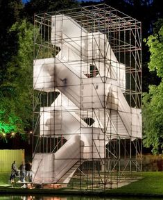 This reminds strikingly of my very first bit of architecture back in first year. #startingout