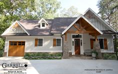 Walkers Cottage House Plan # 11137, Front Elevation, European, French Country & Mountain Style House Plans