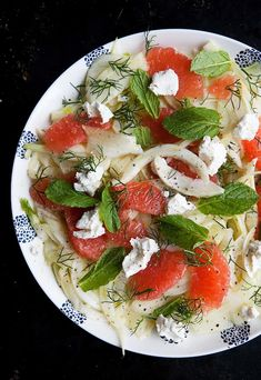 Marinated fennel and grapefruit salad | Five And Spice