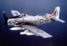 The Intrepid Museum in the midst of acquiring a new airplane for display: a prototype of the famous A-1 Skyraider series of attack bombers.