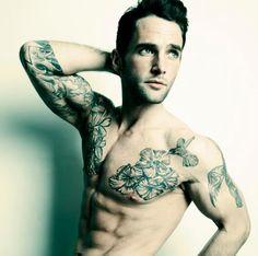 tattoo mens fashion style