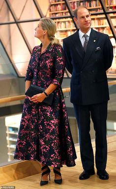 Sophie Wessex looks chic as she joins Prince Edward on visit to Latvia Sophie Rhys Jones, Countess Wessex, Princess Alexandra Of Denmark, Louise Mountbatten, Royal Life, Royal House, Viscount Severn, Lady Louise Windsor, Queen Victoria Prince Albert