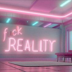 Image about pink in Electric shock 🏙 by ❁[人魚] Bedroom Wall Collage, Photo Wall Collage, Picture Wall, Badass Aesthetic, Neon Aesthetic, Neon Quotes, Pink Quotes, E Dawn, Everything Pink