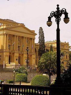 Museu Paulista (Museu do Ipiranga), University of São Paulo museum of Brazilian history, São Paulo , Brazil