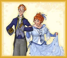 Arthur and Molly- commish by makani.deviantart.com on @deviantART