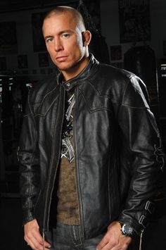 George St. Pierre (UFC Fighter)  A true gentleman with a HOT body!