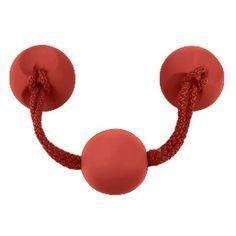 tirador pomo de mueble goma rojo comprar tienda venta online 7946rj