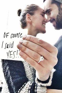 Wedding Proposal Ideas That Are Romantic ❤ See more: http://www.weddingforward.com/wedding-proposal-ideas/ #weddings