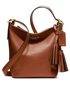 LEGACY LEATHER MINNIE DUFFLE - $198 -- want to see in person - tiny.  bought the regular size instead.