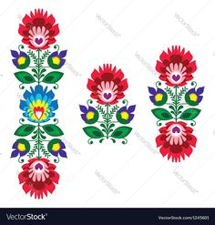 Decorative traditional vector patters set - paper catouts style isolated on white. Download a Free Preview or High Quality Adobe Illustrator Ai, EPS, PDF and High Resolution JPEG versions.