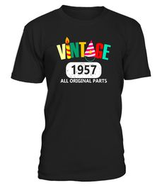 """# Funny 60th Birthday Gift T-shirt 1957 Best Vintage Emoji Tee . Special Offer, not available in shops Comes in a variety of styles and colours Buy yours now before it is too late! Secured payment via Visa / Mastercard / Amex / PayPal How to place an order Choose the model from the drop-down menu Click on """"Buy it now"""" Choose the size and the quantity Add your delivery address and bank details And that's it! Tags: Your vintage mom dad born in 1957 or 60 years old? funny vintage 1957 birthday…"""