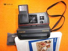 Polaroid Impulse 600 Vendo máquina fotográfica da marca Polaroid Impulse 600 fabricada entre 1988 /1992 Lens: 116 milímetros f / 9-elemento único do obturador: eletrônico, variam em torno de...