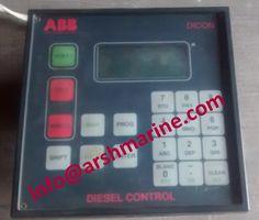 ABB DICON DIESEL CONTROL ENGINE UNIT CMA112 www.arshmarine.com