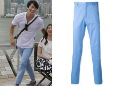 """Kwon Sang-Woo 권상우 in """"Temptation"""" Episode 1.  Calvin Klein Collection Straight Leg Trousers #Kdrama #Temptation #유혹 #KwonSangWoo"""