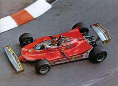 F-1 - 桐田古痕 - Picasa Web Albums -  Giles Villeneuve, Ferrari 312T, Monaco