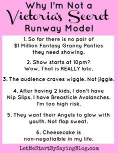 Why @LetMeStart isn't a Victoria's Secret Model
