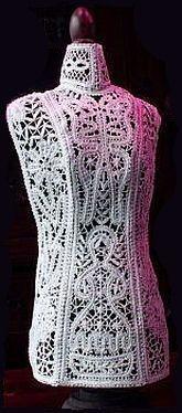 Torso Coby ?Russian tape lace?