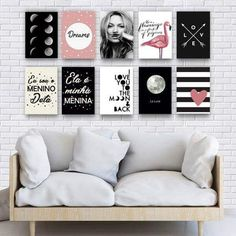 Placas decorativas na sala #quadrosdecorativos #quadros Love Wall Art, Diy Wall Art, Home Decor Wall Art, Bedroom Decor, Art Decor, Decor Ideas, Interiores Art Deco, Family Wall Decor, Cafe Wall