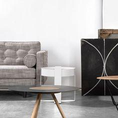 Canapé design vintage 2 places Sof par #Ethnicraft @UniversoPositiv chez Pure Deco