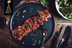 Tataki de boeuf aux 4 épices - Portions : 4 - Préparation : 20min - Cuisson : 10min