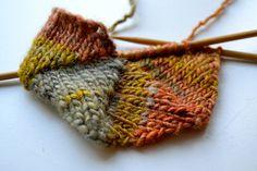 nice knitted hexagon